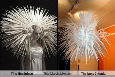 fashion,lamp,TLL,paper,headpiece
