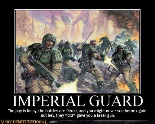 warhammer,laser gun,imperial guard