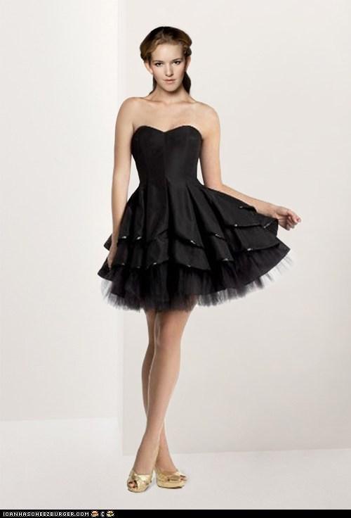 kurz schwarz Kleid