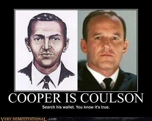 agent coulson,agent cooper,avengers