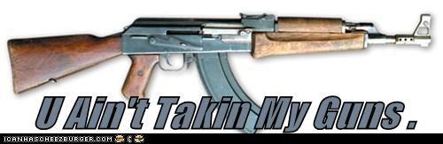 U Ain't Takin My Guns .