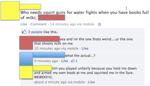 squirt guns,bewbs,wat,failbook