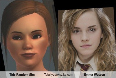 This Random Sim Totally Looks Like Emma Watson
