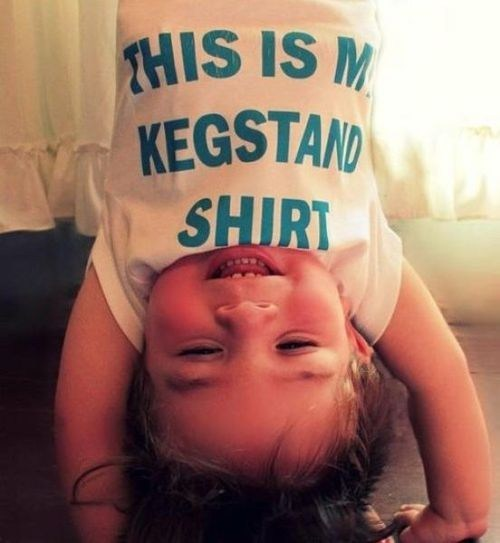 baby,tanked toddlers,shirt,kegstand