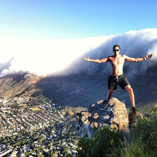 photo op,South Africa,cliff,cape town,BAMF