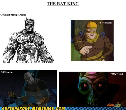 The Rat King Sure Has Changed