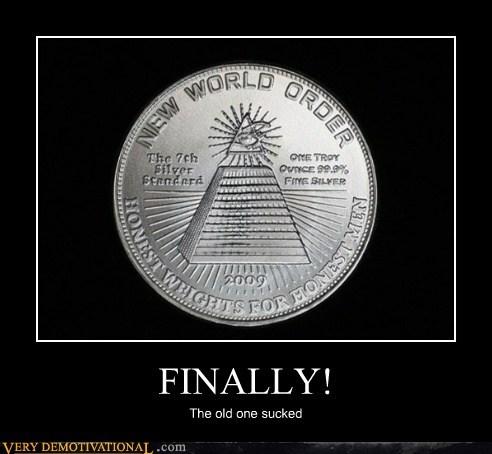 quarter,money,new world order