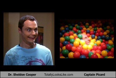 Dr. Sheldon Cooper Totally Looks Like Captain Picard