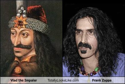 Vlad the Impaler Totally Looks Like Frank Zappa