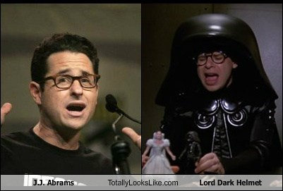 J.J. Abrams Totally Looks Like Lord Dark Helmet