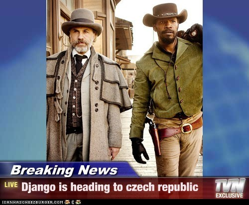Breaking News - Django is heading to czech republic