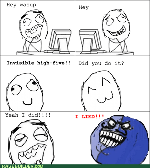 Invisible High-Five