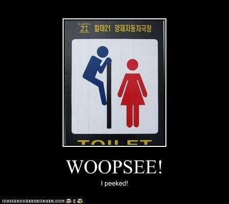 WOOPSEE!