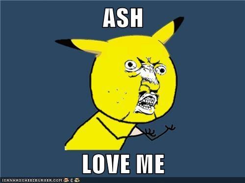 ASH  LOVE ME