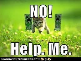 NO!  Help. Me.
