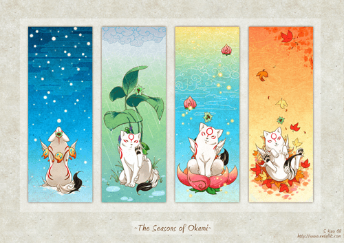 Amaterasu seasons!