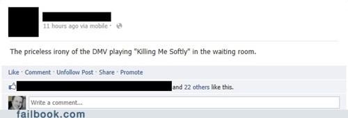 killing me softly,DMV