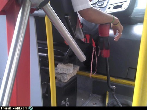 Brazilian Buses Are Easy to Fix