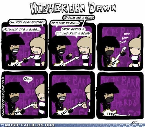 bass players,groupies,highgreen dwan