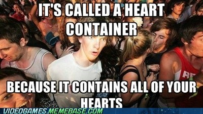 Heart containers
