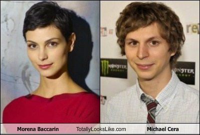 Morena Baccarin Totally Looks Like Michael Cera