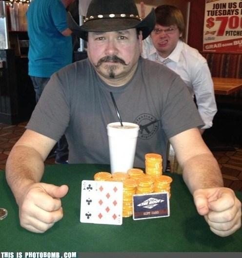 poker face,winning