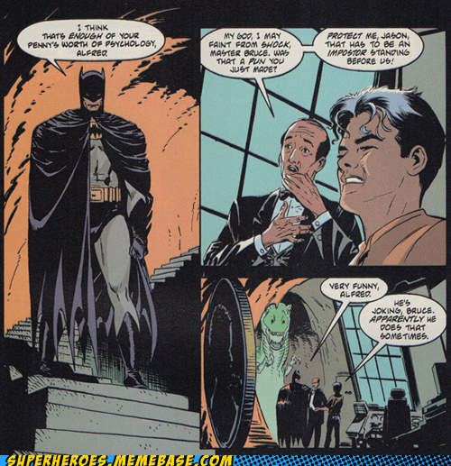 Batman Can Make Jokes?