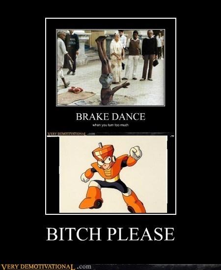 megaman,topman,video games,breakdance