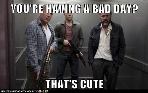 John McClane,a good day to die hard,bruce willis,bad day,jai courtney
