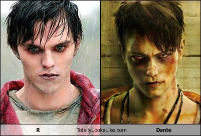 R From Warm Bodies Totally Looks Like Dante From Devil May Cry