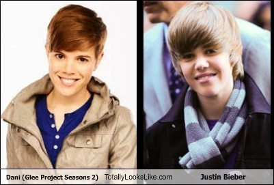 Dani (Glee Project Season 2) Totally Looks Like Justin Bieber