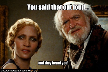 you said,cloud atlas,jim broadbent,out loud,heard you,halle berry,what is wrong with you,reaction,disbelief