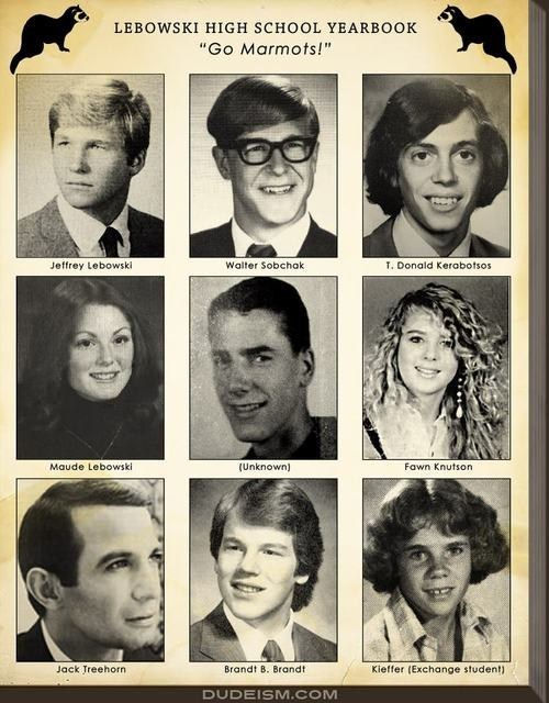 Lebowski High School Yearbook