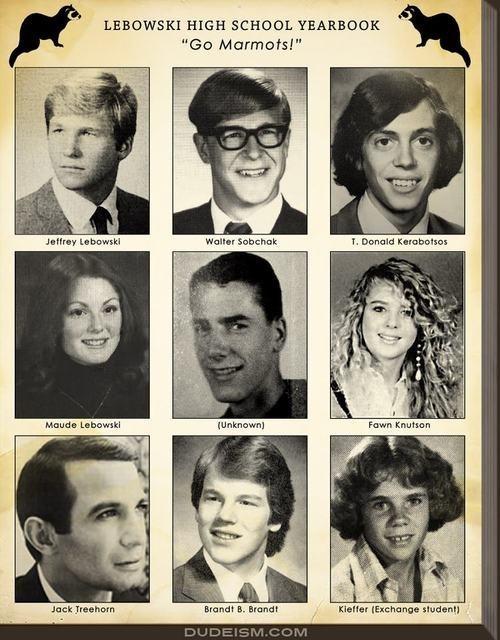 Lebowski High School Yearbook