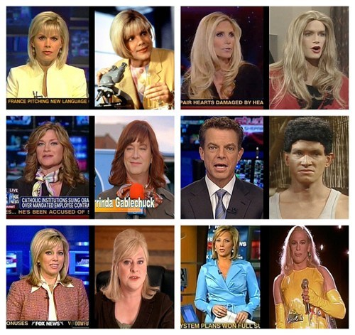 kids in the hall,fox news,TLL,news anchors,drag