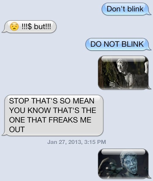 iPhones,weeping angels,doctor who,dont-blink,g rated,AutocoWrecks