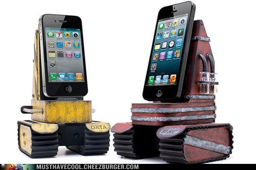 Tank iPhone Docking Station