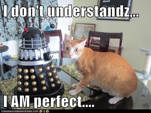 I don't understandz,..  I AM perfect....