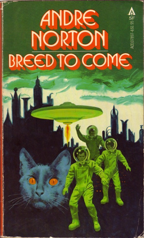 WTF Sci-Fi Book Covers: Breed to Come