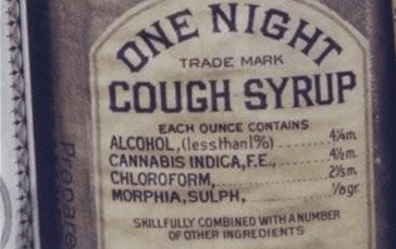 Old School Cough Syrup Was The World's Greatest Drug