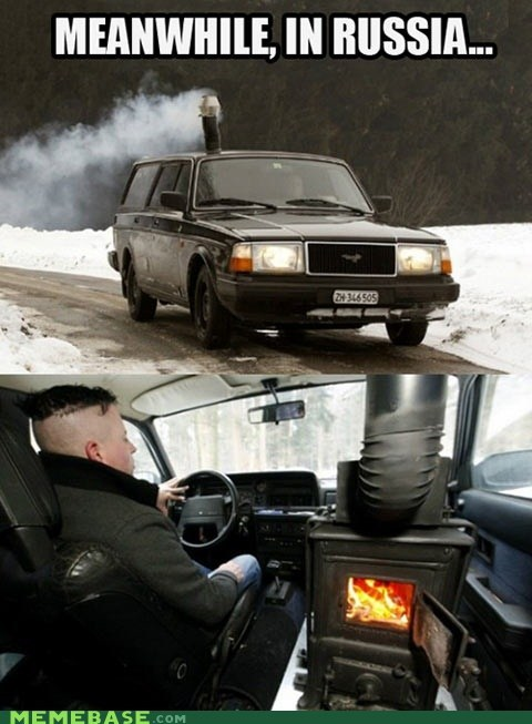 russia,car,stove,heater