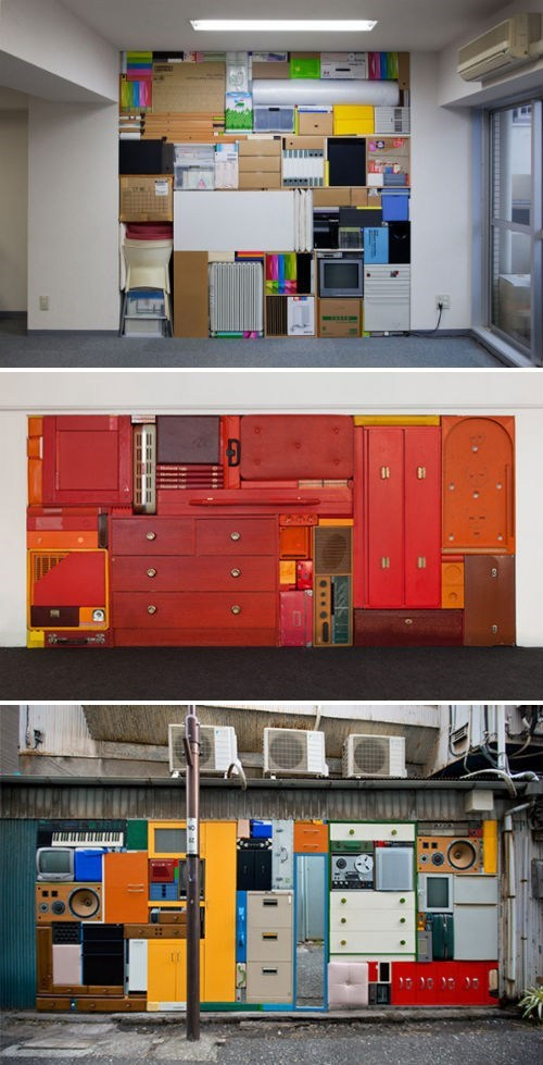 Artsy Fart of the Day: Michael Johansson's Real Life Tetris