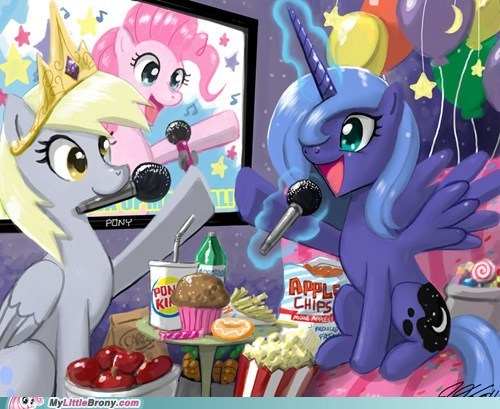 A Photo From Derpy's Going Away Party