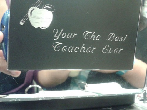 Teacher Appreciation FAIL