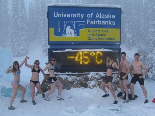Alaskan College Kids Get Crazy
