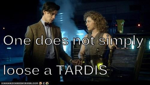 One does not simply loose a TARDIS