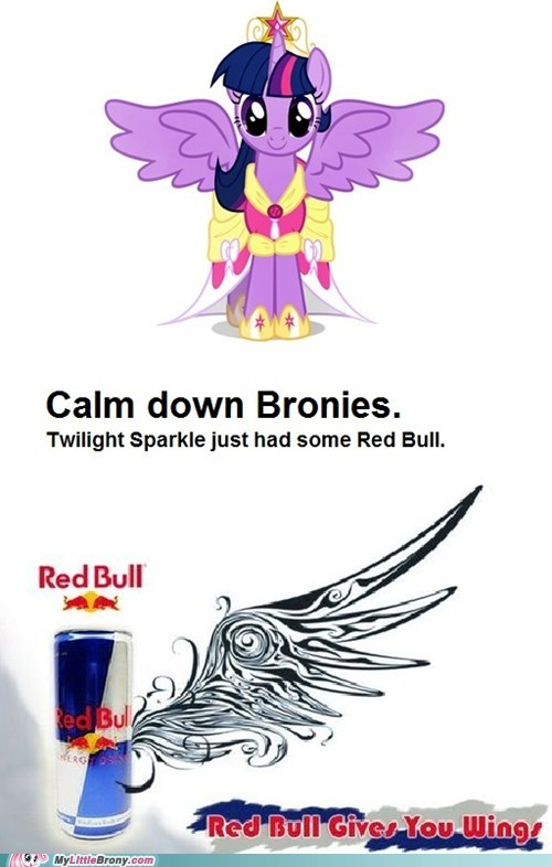 Red Bull Gave Twilight Her Wings