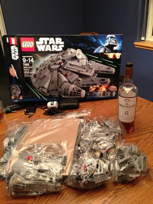 drinking,alcohol,legos,isn't gonna happen,too hard,after 12,g rated