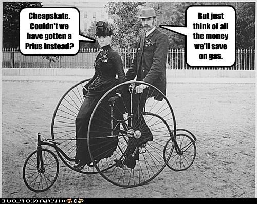 Prius,car,bike,cheap,weird