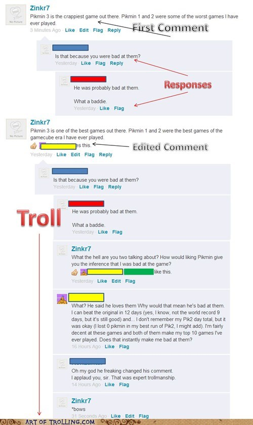 Cheezburger Comment Editing Troll